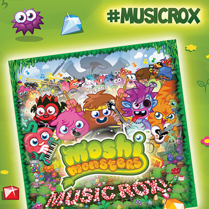 Moshi Monsters Music