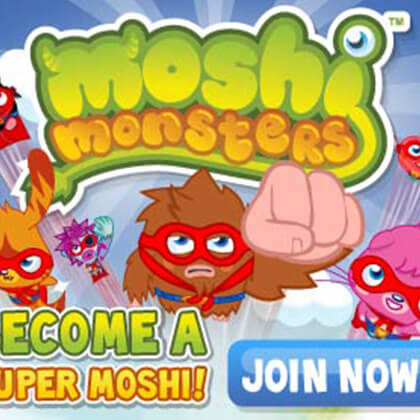 Moshi Monsters Banners