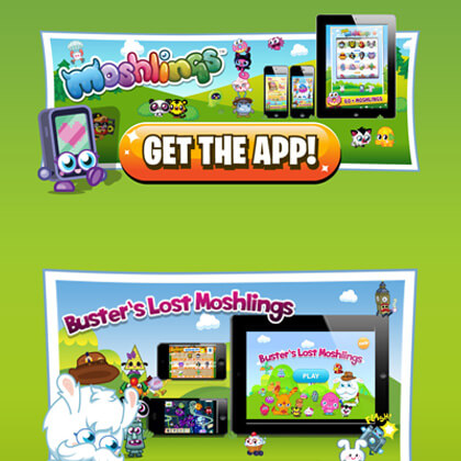 Moshi Monsters Website